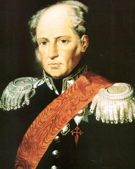 Retrato de Agustín de Betancourt.