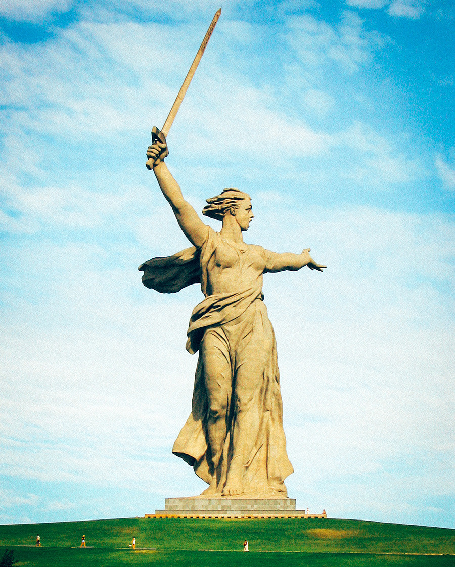Motherland Calls monument