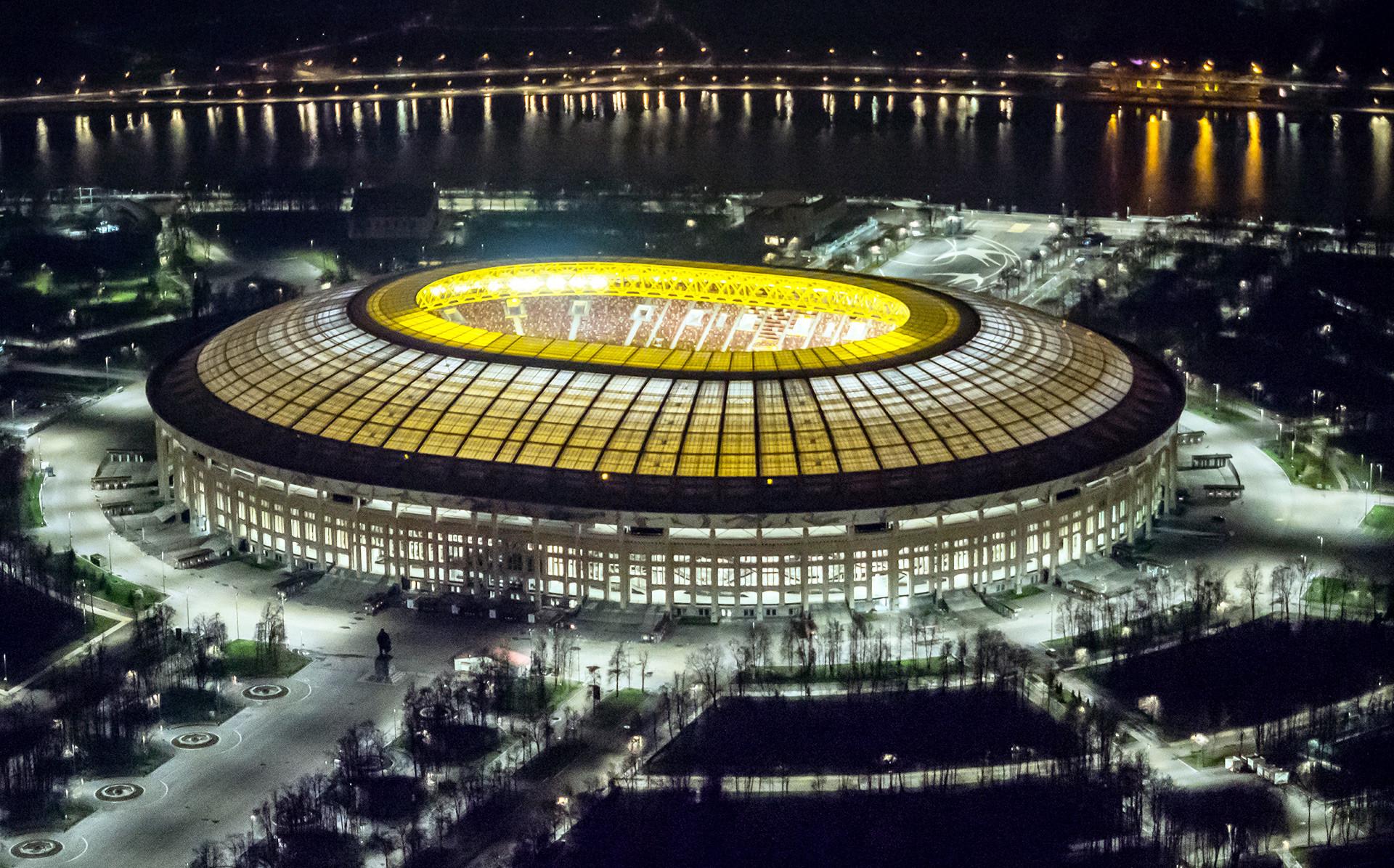 Stadion Luzhniki.