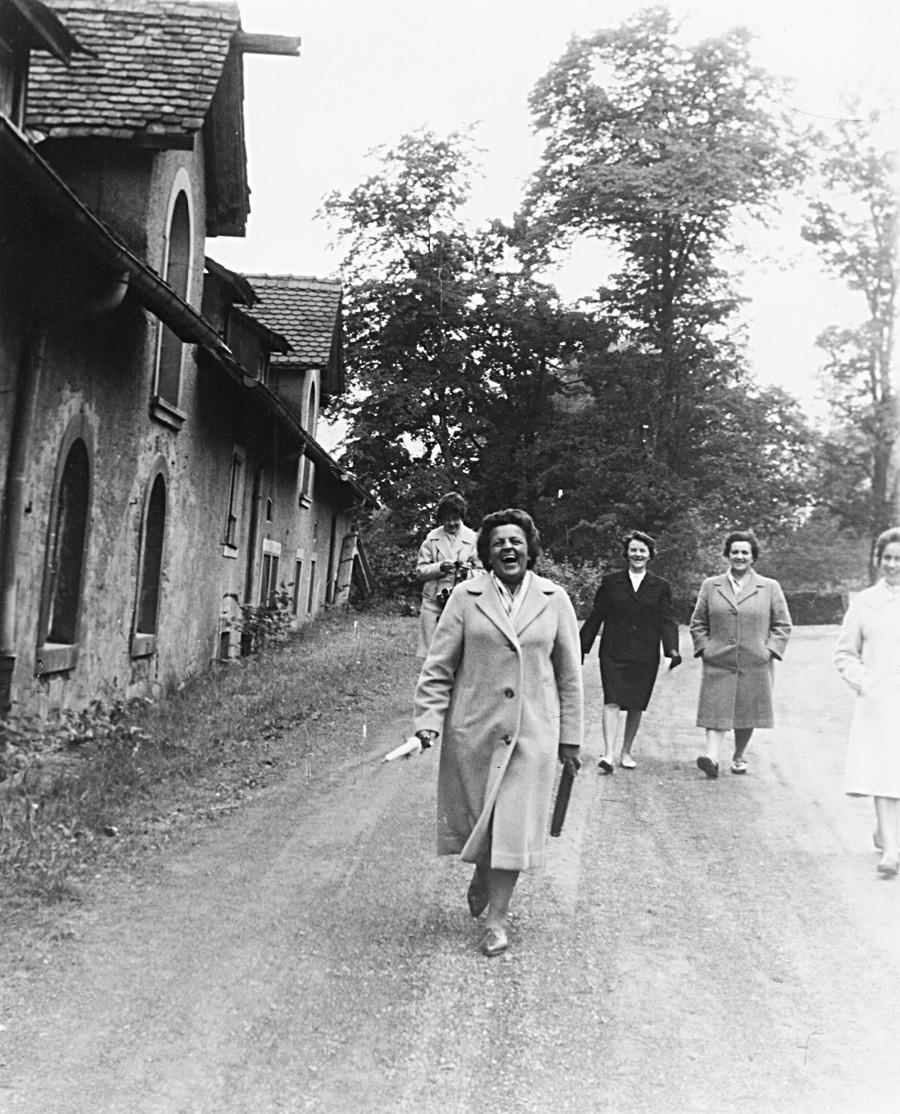 Цили в санаториум в Западна Германия