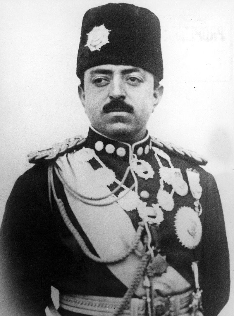 Afganistanski kralj Amanulah Kan, pred 1930.