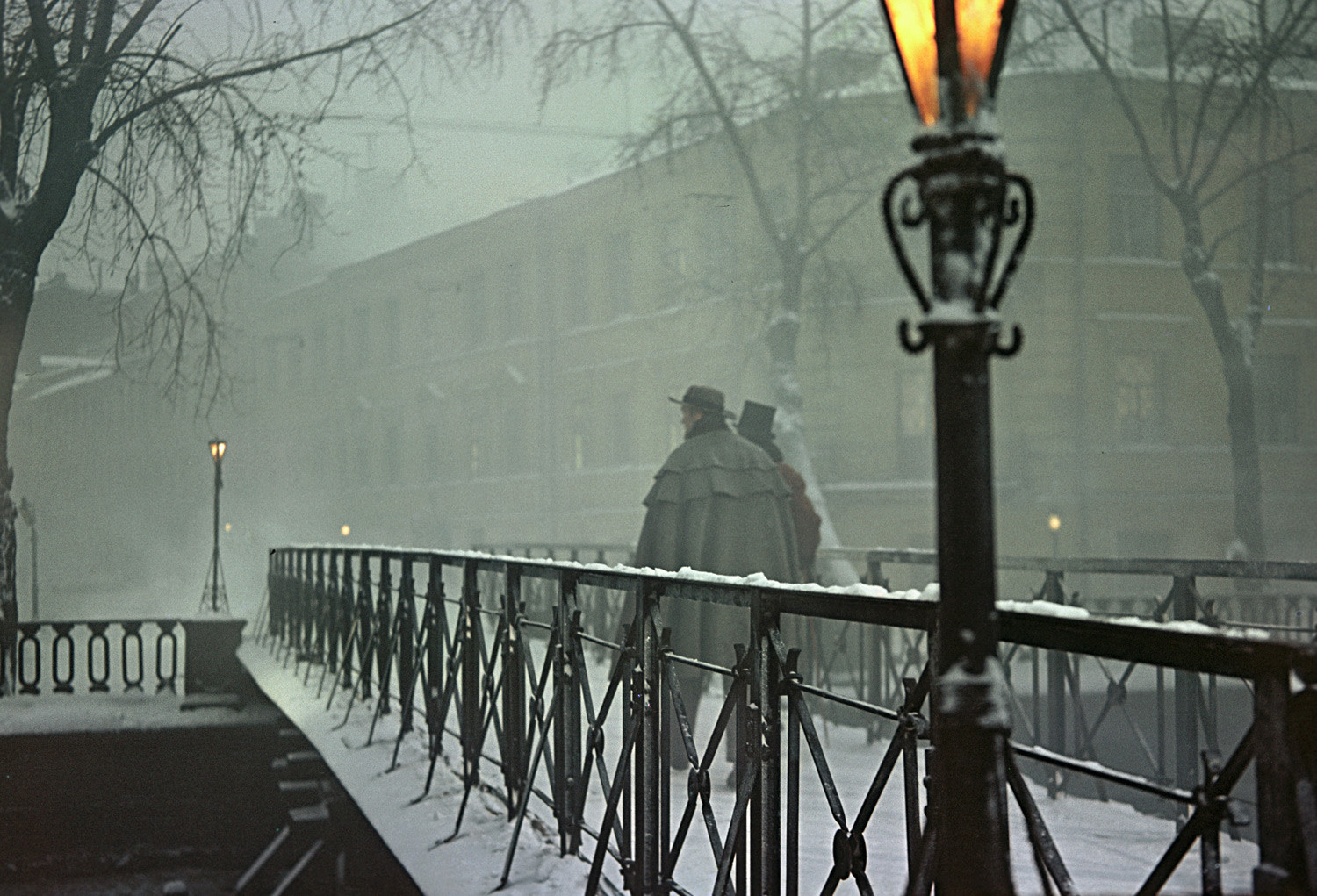 The streets of St. Petersburg as portrayed in the movie