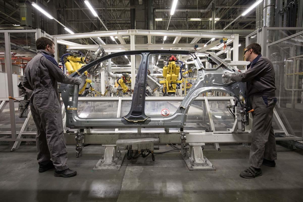 Volkswagen: Deutsche Produktion mit russischen Komponenten in Kaluga.