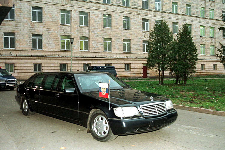 Лимузина Бориса Јељцина