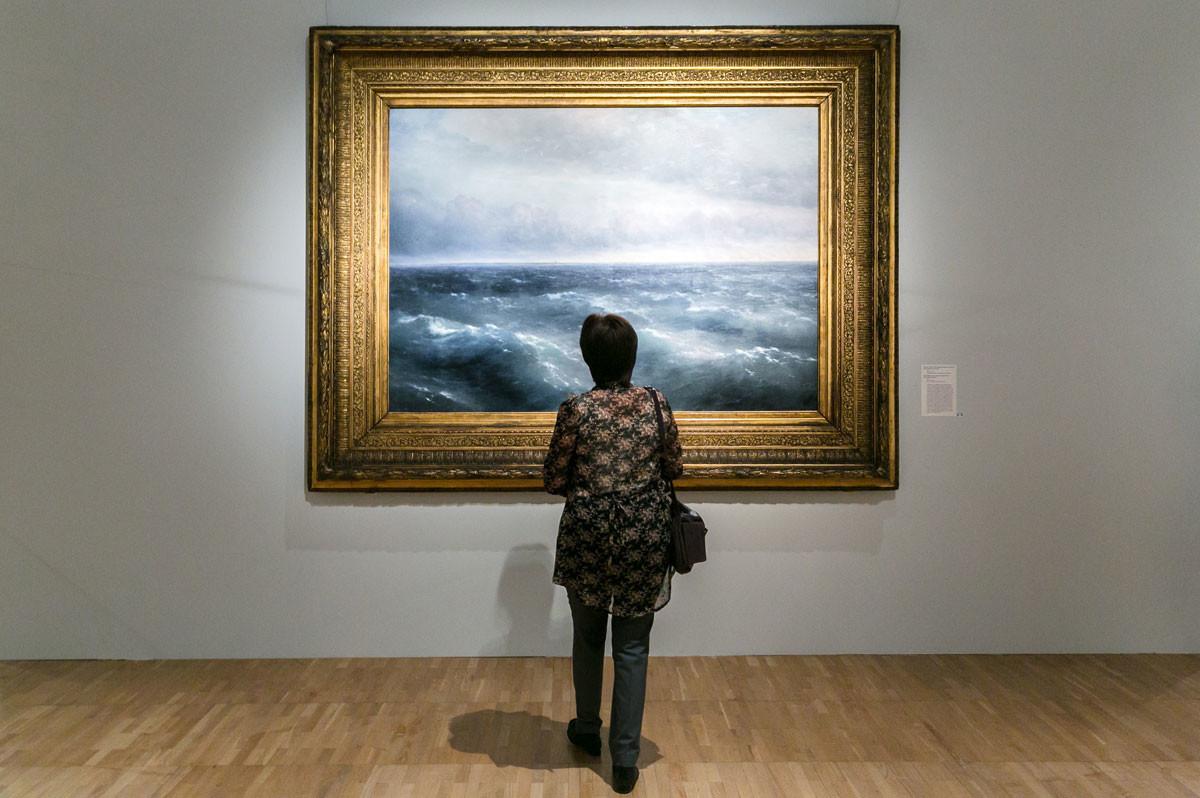 Aivazovski na Galeria Tretiakov.