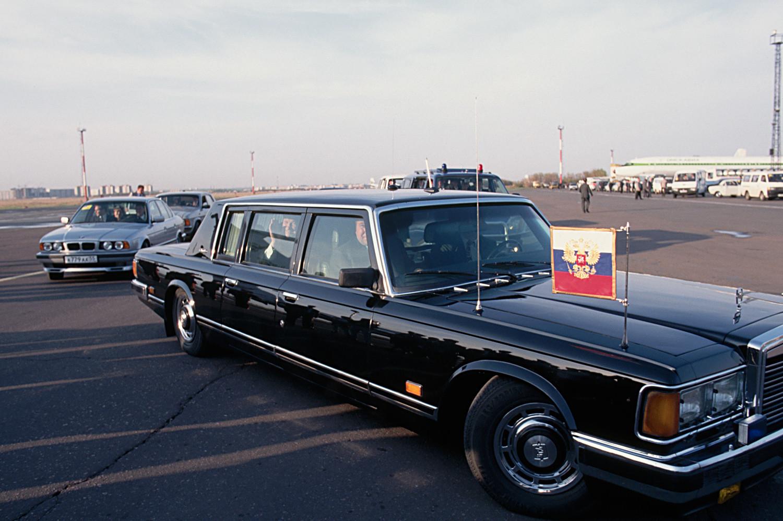 Лимузината на Борис Елцин
