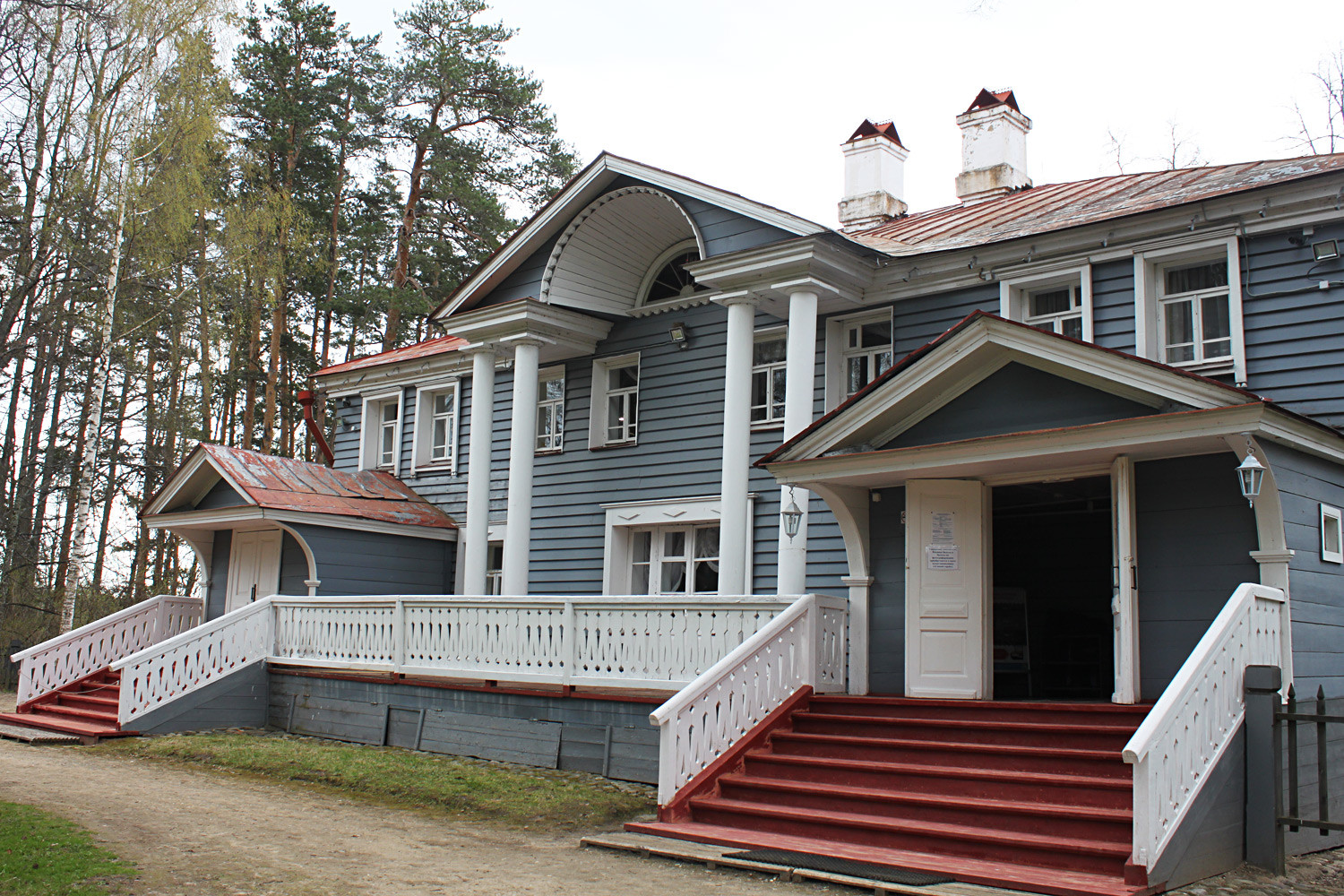 The house, where Ostrovsky lived and wrote his plays.