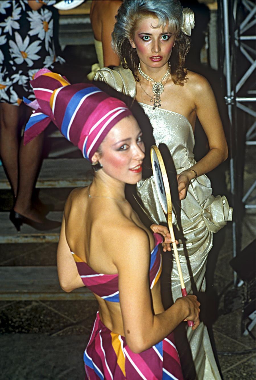 Concurso Beleza de Moscou-88