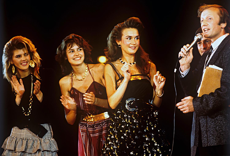 Finalistas do Beleza de Moscou-88