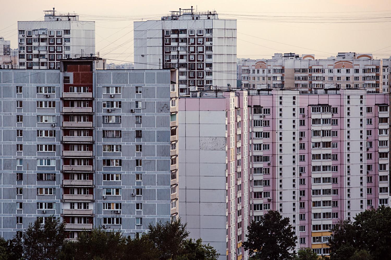 Stanovanjska četrt Severnoje Tušino, severozahodna Moskva