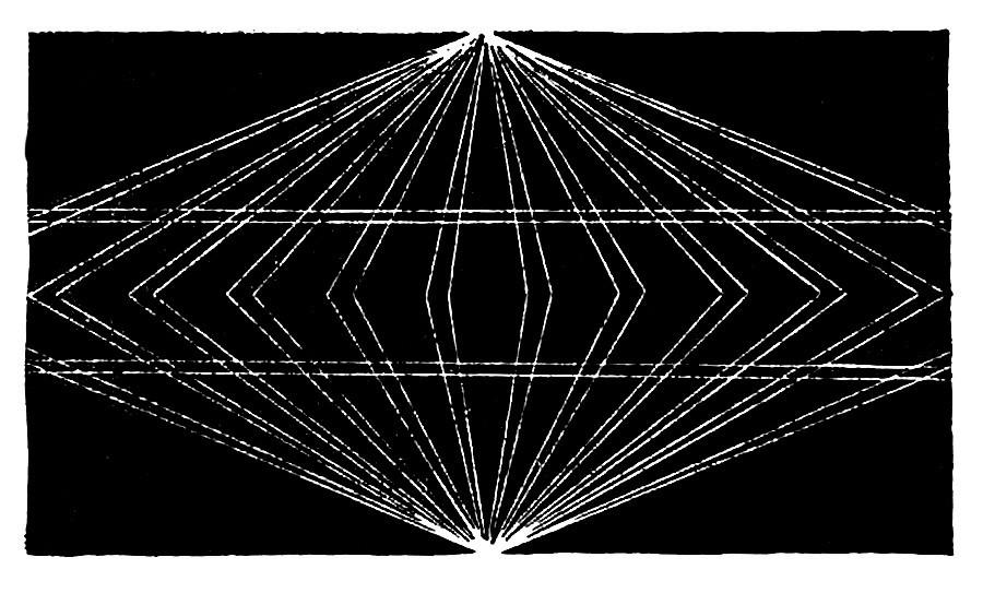 """Do livro """"Zanimatelnie igri i fokusi"""" (em tradução livre, """"Jogos e truques""""), de Iakov Perelman, 1959, editora DetGuiz."""