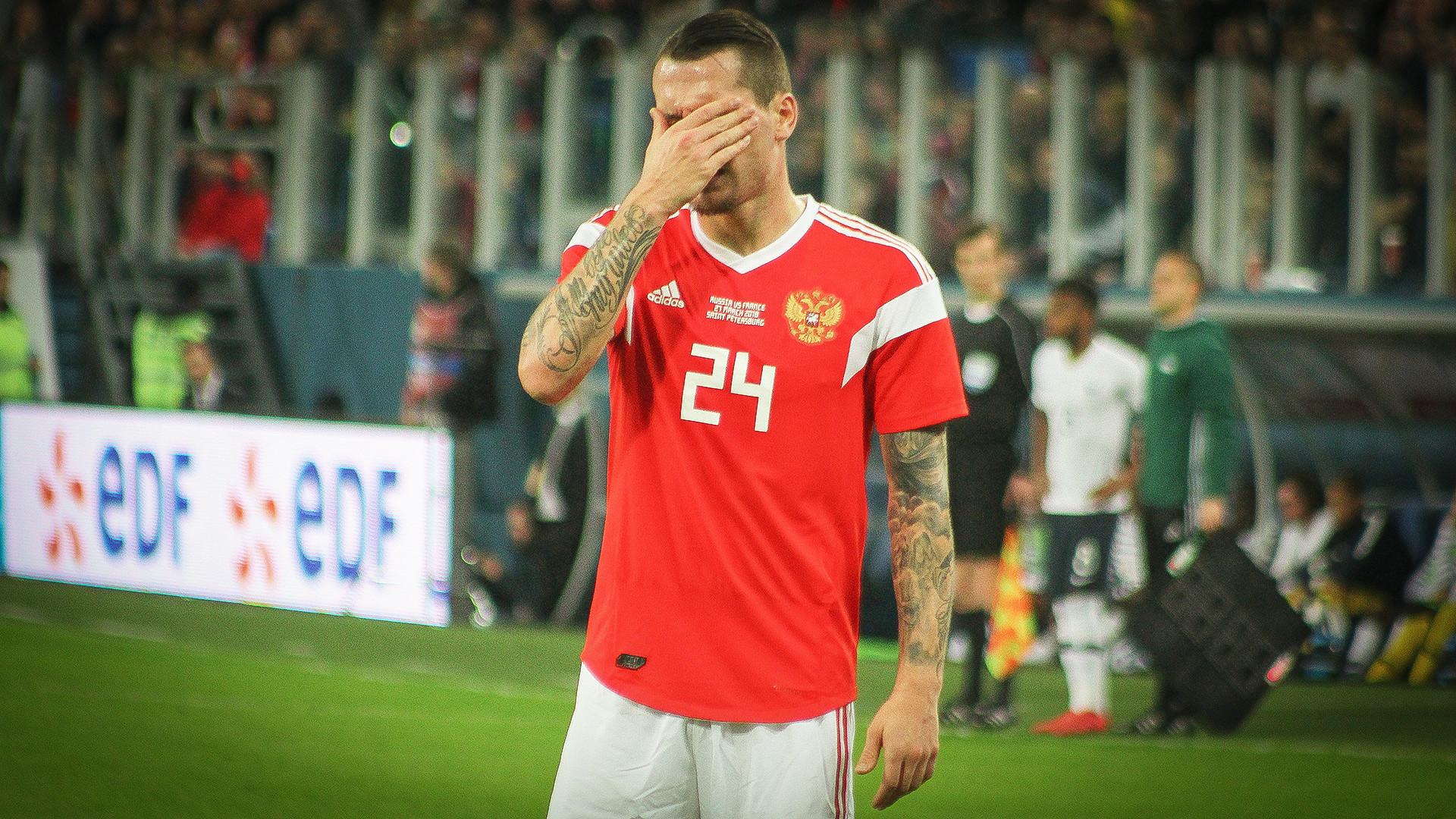 A internet russa pode ser cruel e os jogadores e torcedores da nação descobriram isto da maneira mais difícil.