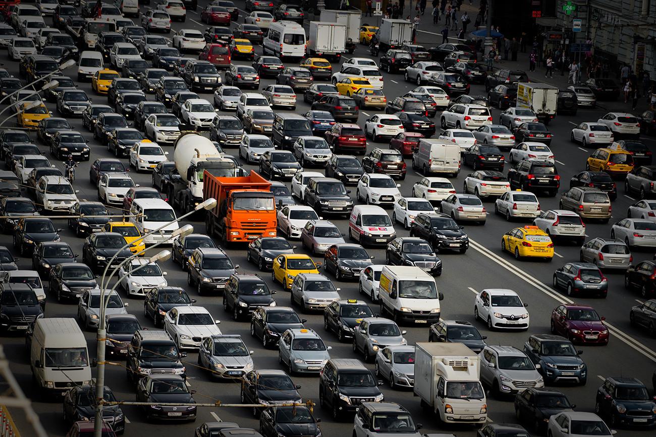 Kemacetan Moskow.