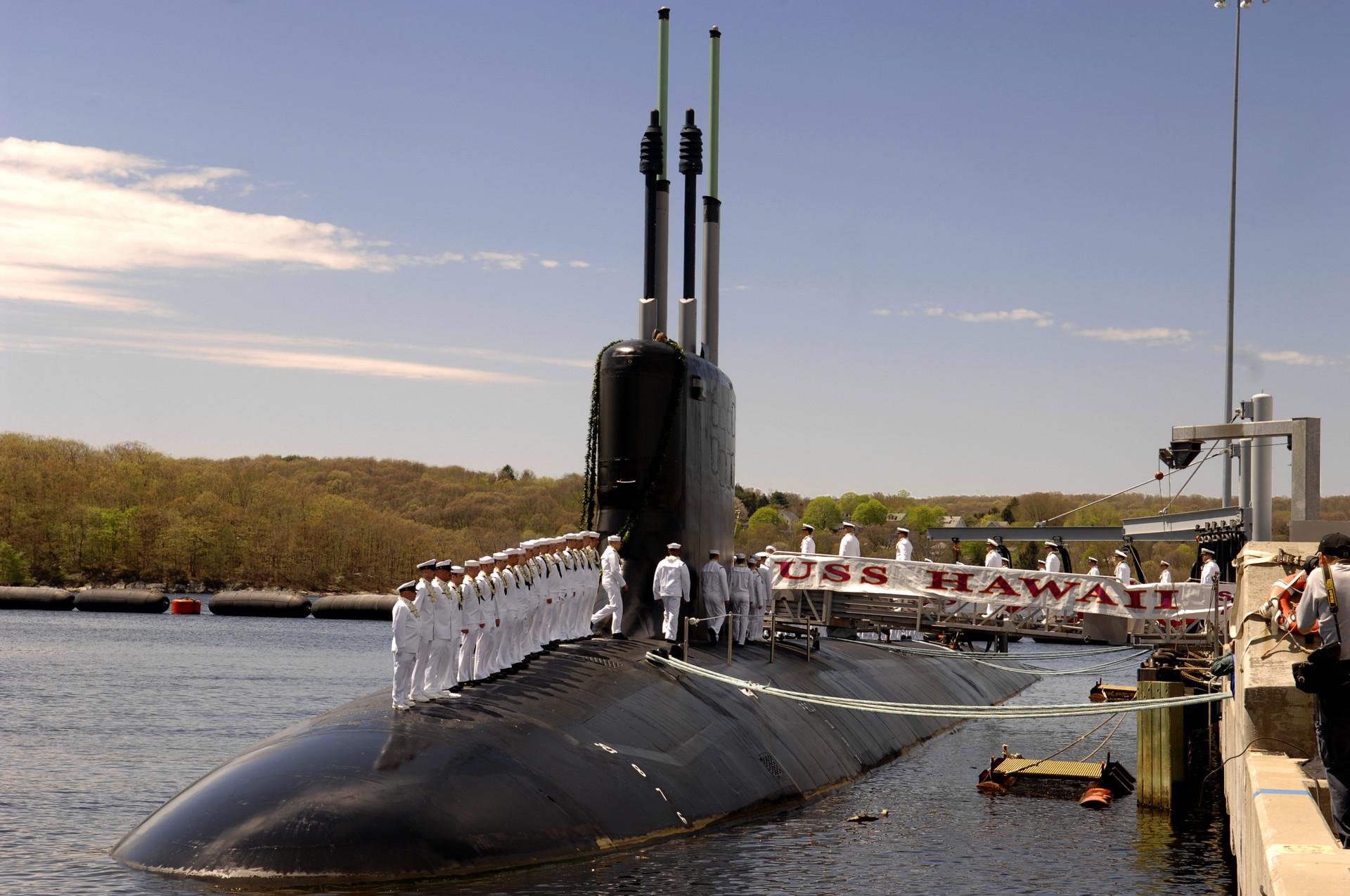 "Подморница класе ""Вирџинија"", SSN-776"