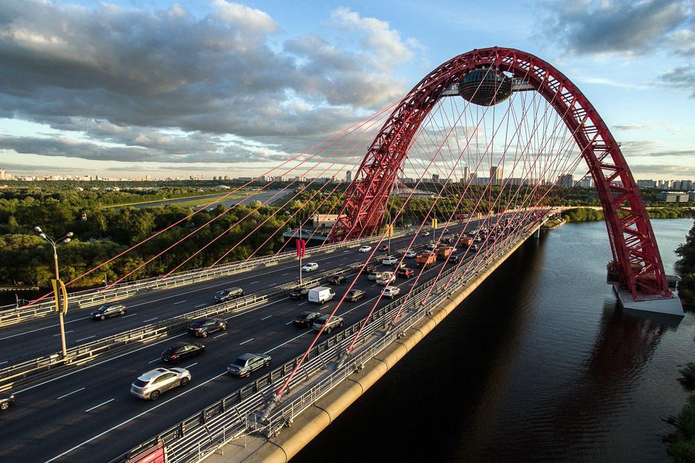 Живописни мост у Москви