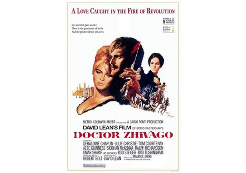 Plakat za filmsko adaptacijo romana iz leta 1965.
