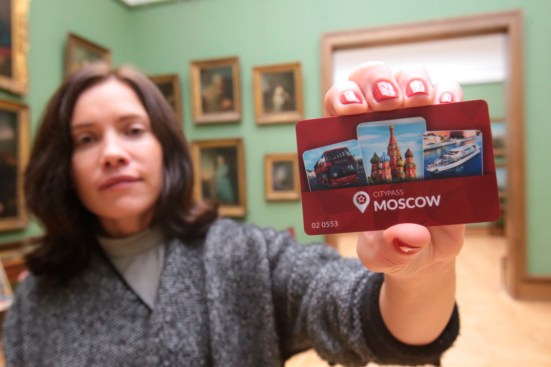 Russian tourist pass CityPass