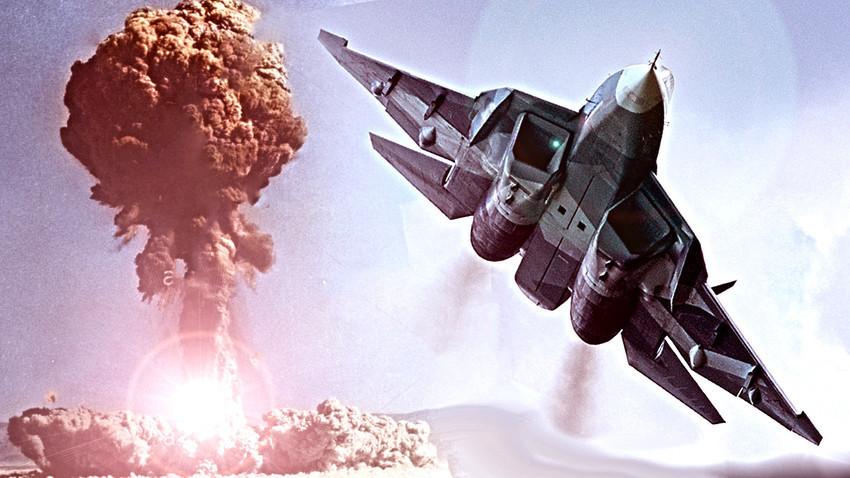 Су-57 ќе има способност да зададе фатални удари на непријателот