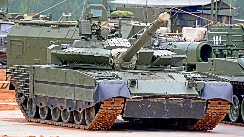 "Modernizirana verzija ""mlaznog"" tenka T-80BVM"