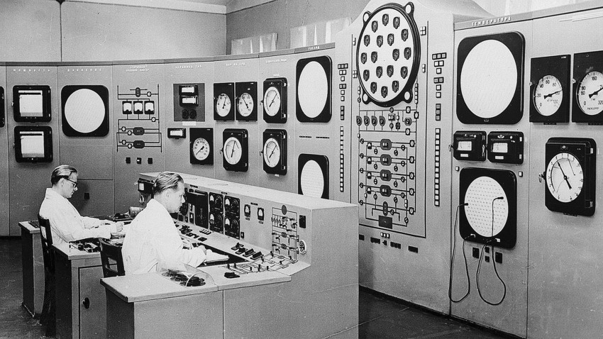 In the late 1940s, Soviet scientists worked hard on their own atomic project, and the help of captured (or invited) German colleagues was of great help.