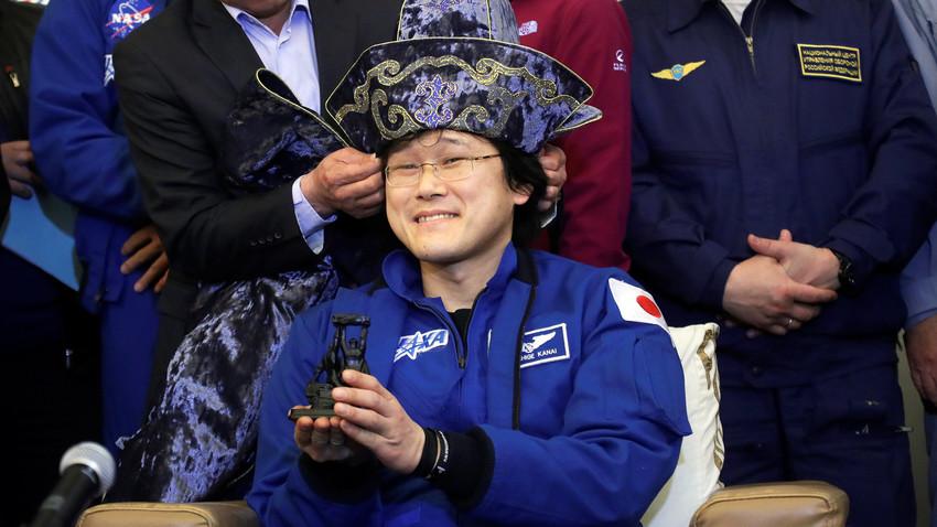 金井宣茂さん