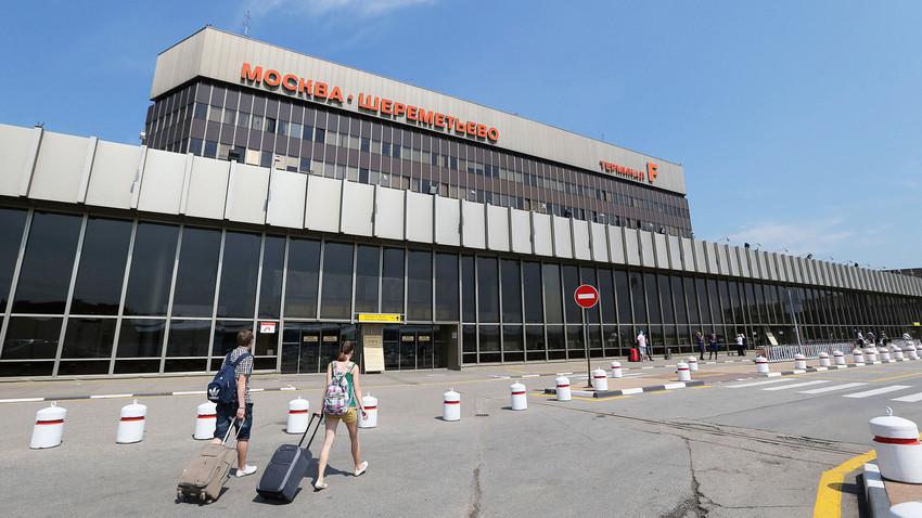 Aeroporto Sheremetyevo.