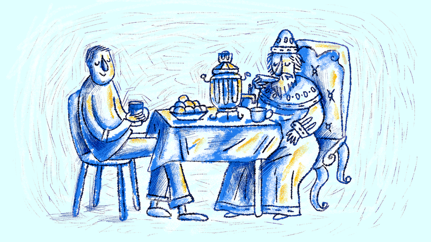 Tidak peduli apakah Anda seorang tsar atau hanya orang Rusia biasa -  Anda   pasti minum teh.