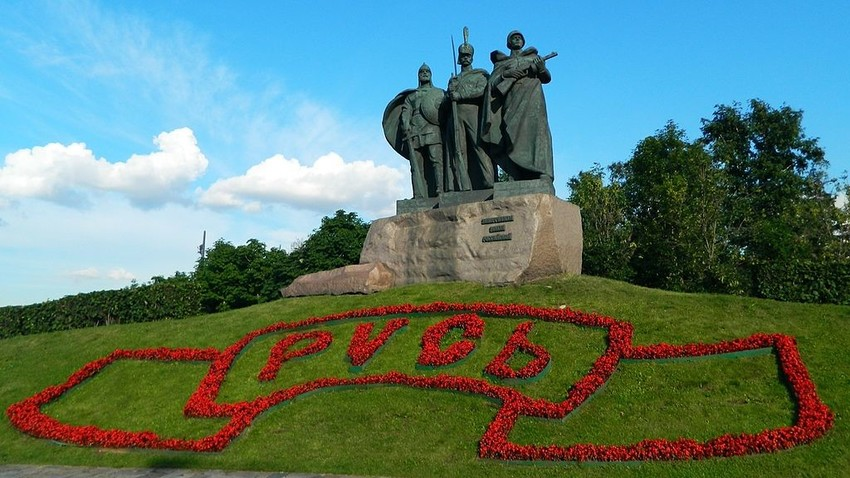 Braniteljem Rusije se bo v prihodnje v Parku Zmage pridružil tudi spomenik, posvečen slovenskim vojakom, padlim v Rusiji.