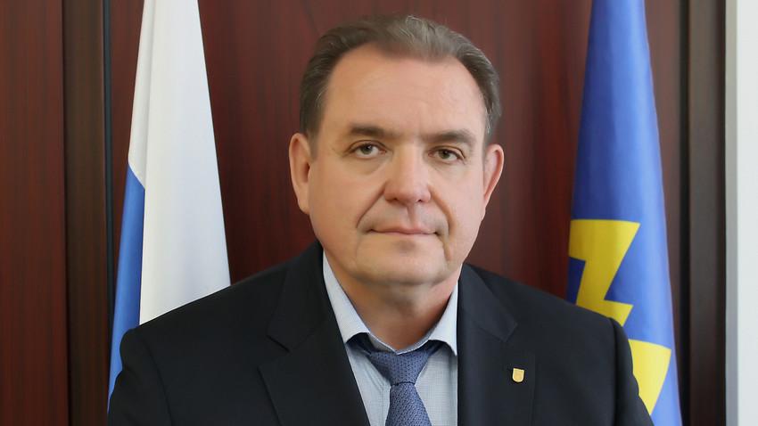 Sergej Antašev, vodja mestnega okrožja Togliatti