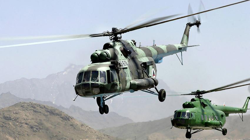 Ми-17 на авганистанската војска