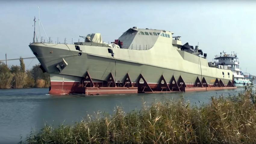 Ruska patruljna ladja Vasilij Bikov razreda 22160