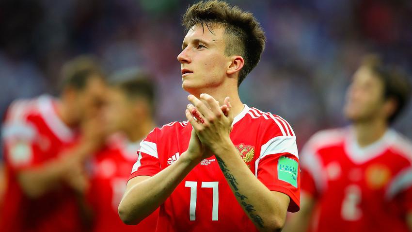 Alexander Golowin ist einer der gefährlichsten Sbornaja-Kicker dieser WM