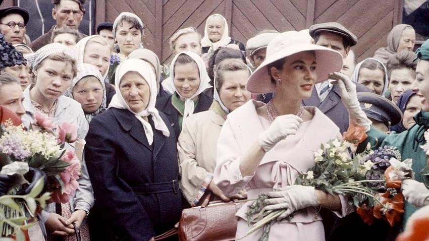 Dior-Show in Moskau, 1959