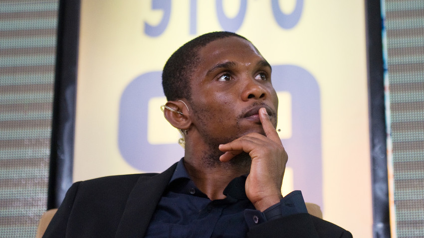 Samuel Eto'o.