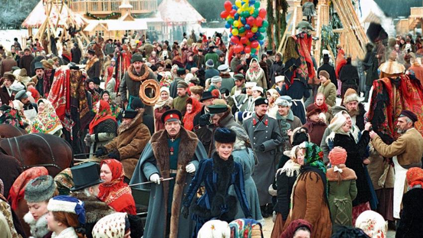 Prizor iz filma Sibirski brivec.