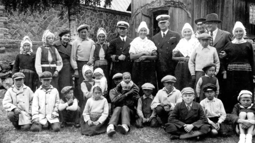 Estonski Švedi leta 1935