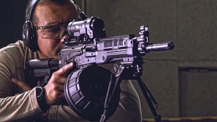 RPK-16 na strelištu