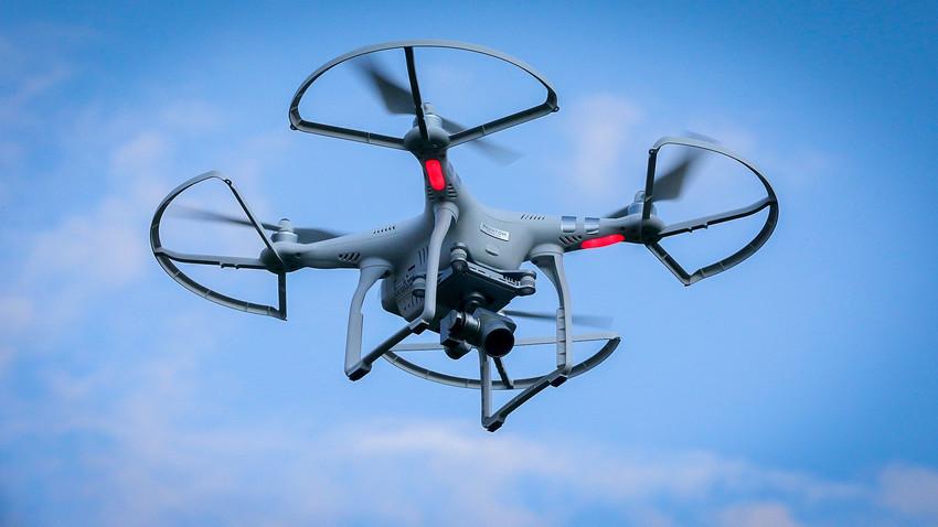 Hermitage está mais seguro que nunca com objetos voadores não tripulados fornecidos por universidade.