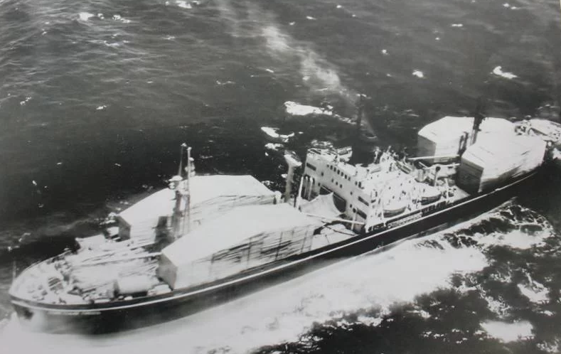Sovjetski brod s nuklearnim bojevim glavama.