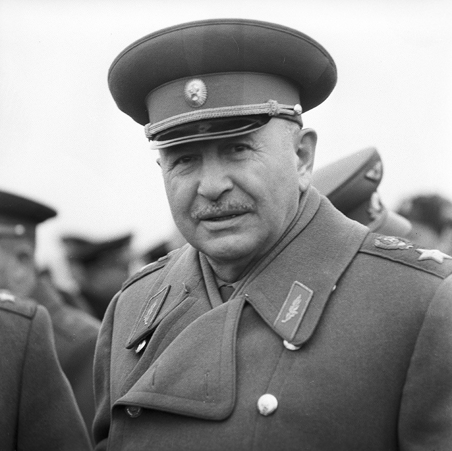 Ivan Bagramyan, the man who planned Operation Anadyr.