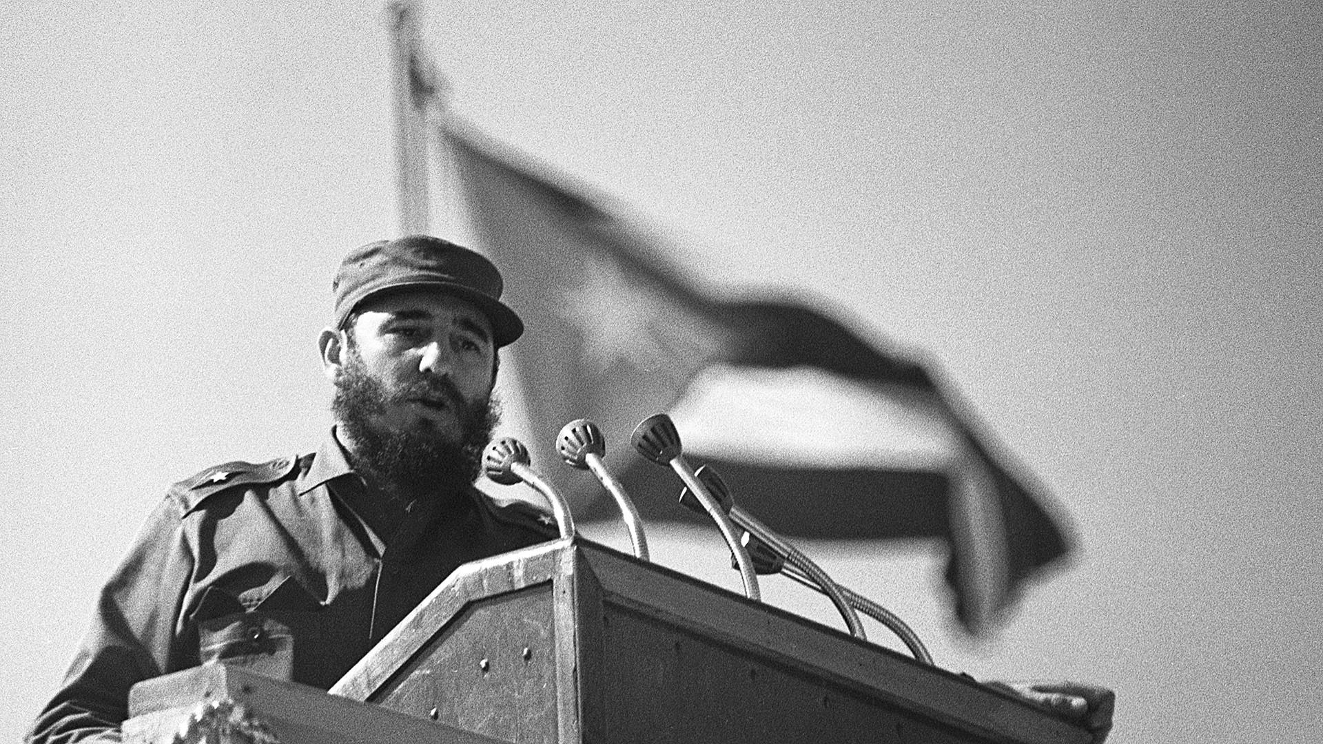 Fidel Castro gobernaba en Cuba desde 1959.