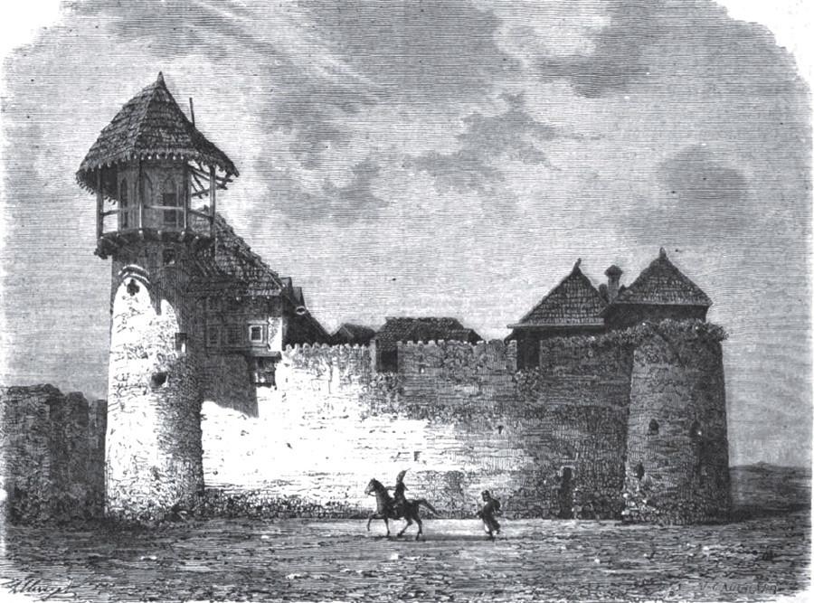 Северозападни део утврђења Шуша.