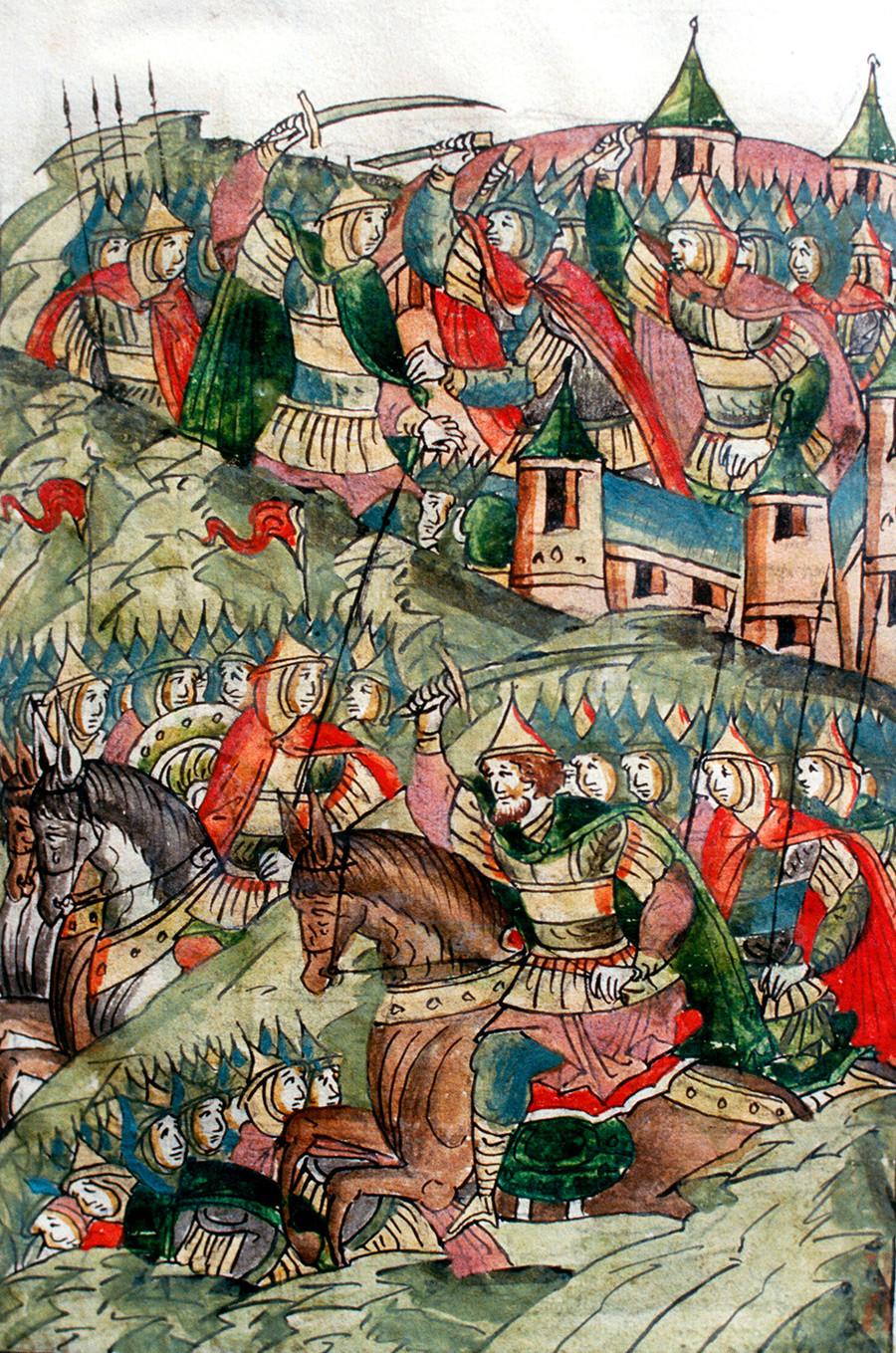 Rusi proti Tatarom leta 1238