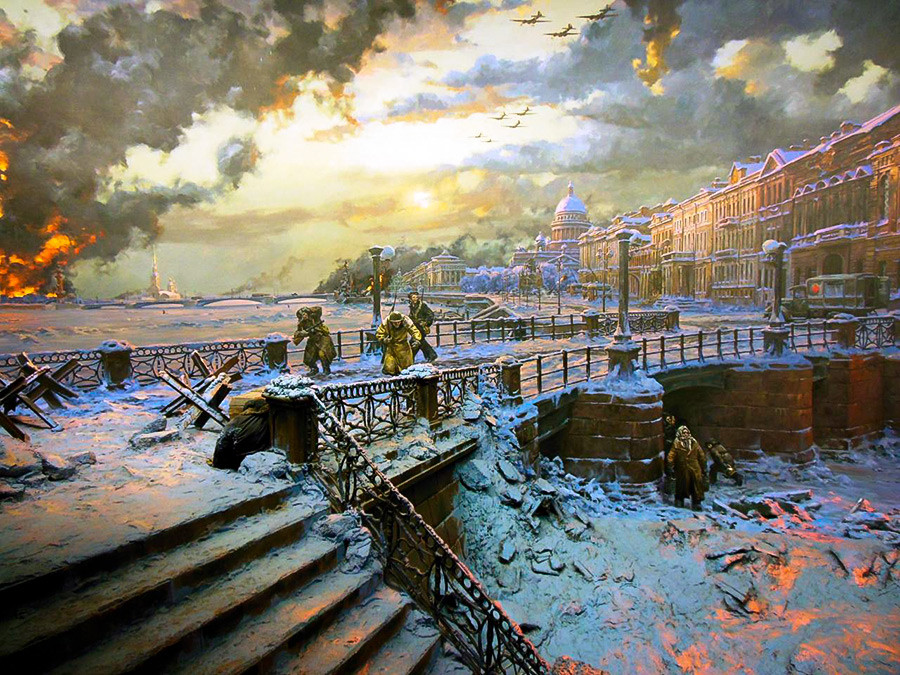 Blokada Leningrada
