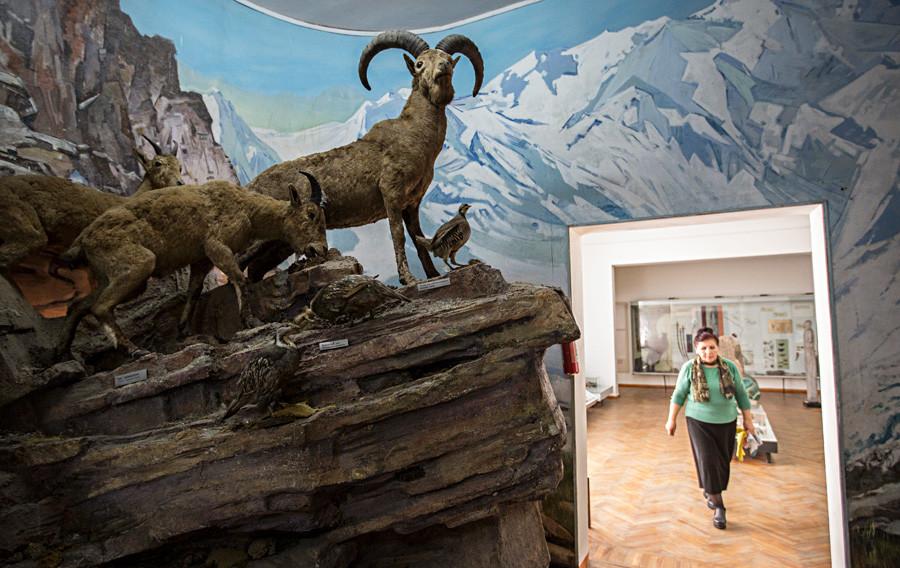 Le Musée national de la République de Kabardino-Balkarie, Naltchik.