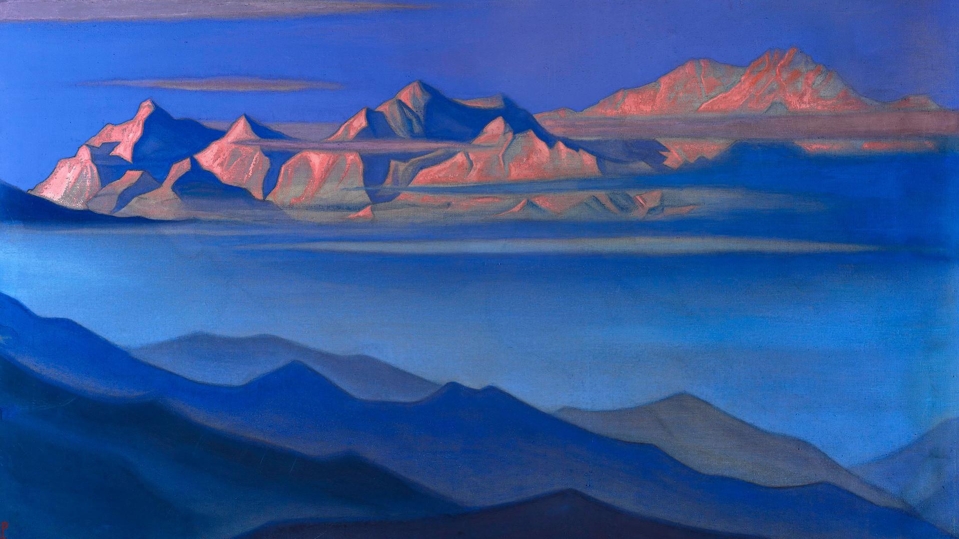 Nicholas Roerich, 'Kangchenjunga', 1944