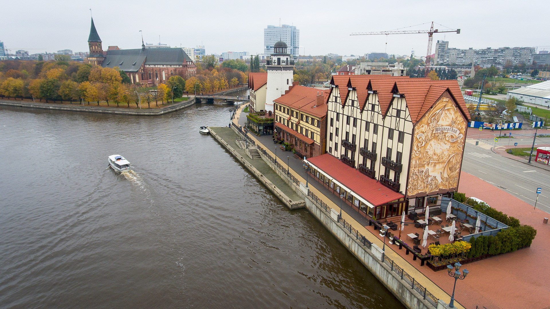 Bitcoin can save you in Kaliningrad, where a hotel room goes for at least $300 per night.