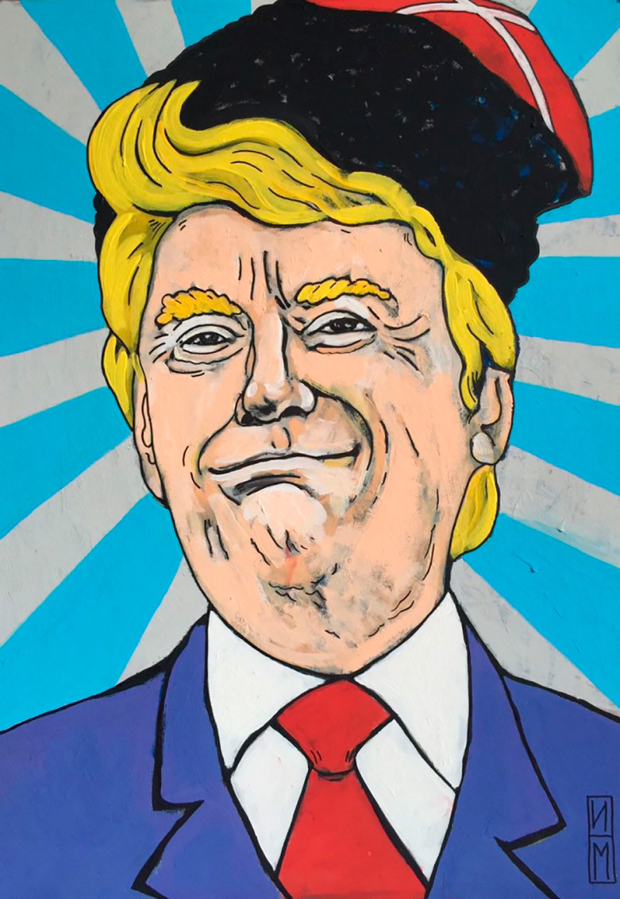 """""""'Eh! La Russia è stata fortunata con il Don!', D. Trump"""", di Maksim Ilinov"""