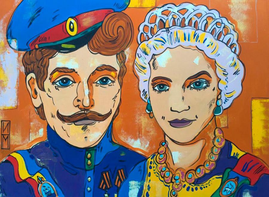 """""""Um sonho de rainha"""", de Maksim Ilinov"""