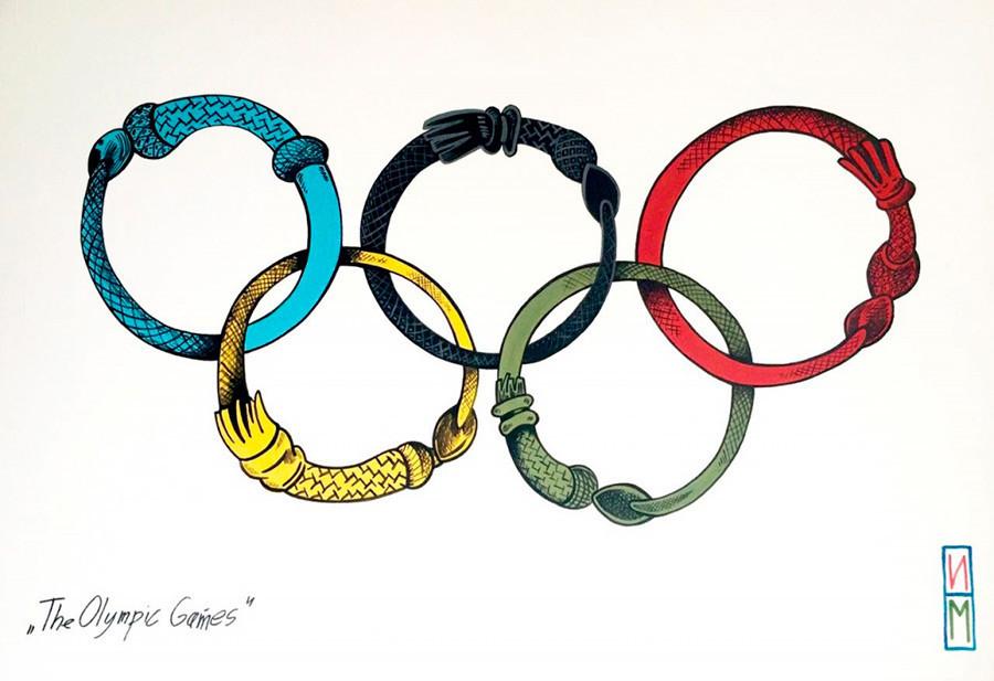 """""""Os Jogos Olímpicos"""", de Maksim Ilinov"""
